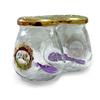 Набор банок д/хранения специй 2пр 0,26мл стекл. Соль и Перец 626-076 КВ