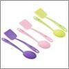 Набор кухонный 2 пр, лопатка, ложка, нейлон Малибу SATOSHI  884-462