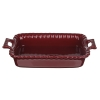 Форма для запекания  керамика прямоуг с ручк  28х16,5х5см, бордо MILLIMI 826-318