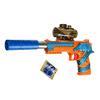 Пистолет с пулями гидрогель, пластик, полимер, 33х18х3см ИГРОЛЕНД 261-655