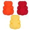 Форма силиконовая д/выпечки Медвежонок 3цв 856-124