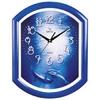 Часы пластик усечен/овал П2-10/7-22