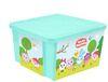 Ящик д/игрушек 57л X-BOX МАЛЫШАРИКИ  ПЦ 1127 (5)