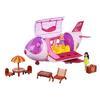 """Набор игровой """"Дом для путешествий"""", 2 куклы, аксесс., 17пр, пластик, 44х22х23см, 2 дизайна ИГРОЛЕНД"""