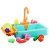 Раковина, посуда, продукты, функция вода, 2хАА, PVC, ABS, 19 пр., 34х24х9 см, 4 дизайна ИГРОЛЕНД 294