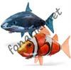 Дирижабль/Летающая рыба 145*92см