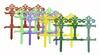 Заборчик садовый Роскошный сад 2,67м h34,5см/7секц.*7пласт(17)