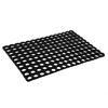 Коврик ячеистый 40x60x1,6см, черный, грязезборный, резиновый 466-343