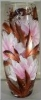 Ваза д/цветов стекл.декоративная h-250 7736/250/77-137