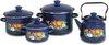 Набор посуды эмал. кастр.2;3;5,5л+чайник 3,5л 5кв201м (1)