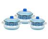 Набор посуды эмал. 3пр. кастр.2;3;5,5л 5кт131м (1)
