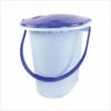 Ведро -туалет 17л  голуб. М1320 (10)