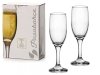 Фужеры д/шампанского 190мл 2шт Бистро (г.Бор) ПСБ44419 (16)