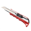 Нож пистолетный с фиксатором, толщина лезвия 0,4мм, ширина 18мм, пл. металл ЕРМАК 685-018 (6)