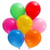 Шары воздушные 25шт цветные в пакете  513-090