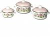 Набор посуды эмал. кастр. цилиндр.  №8 6кв081м (1)