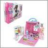 Набор игровой Сумка-дом с куклой и аксессуарами, 15пр пластик полиэстер, 37х29х6см ИГРОЛЕНД 294-111