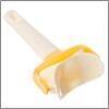 Ролик-пресс для вырезания кружков из теста, пластик, 9х17см 884-174