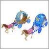 Экипаж для маленькой куклы, пластик, 17,5х8,5х32 258-012