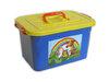 Ящик д/игрушек10л 380*380*260 РАДУГА  ПБ81001 (6)