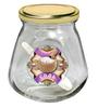 Баночка д/хранения 0,26мл стекл. с метал.крышкой СОЛЬ 626-151 КВ