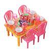 Набор мебели и посуды для кукол, пластик, 13,5х11х10см, ИГРОЛЕНД 267-573