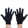Перчатки х/б ПВХ 5пар черные 446-037