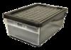 Ящик д/хранения 15л с боковой дверцей ПЦ 2591 (10)