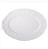 Тарелка овальная, 30х21см, MILLIMI Альбина фарфор 821-709