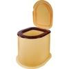 Ведро -туалет прям. д/дачи max нагрузка до 100кг М1295 (4)