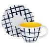 Чайная пара 270мл блюдце 15см Индиго керамика MILLIMI 824-467
