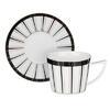 Набор чайный 12пр 250мл 15см, Король  костяной фарфор MILLIMI 802-107