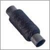 Нитки полиэстер, намотка 200м, 10шт черные 40, арт. 12022/6-027 308-550(10)