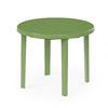 Стол пластиковый круг. 900х900х750 зеленый М2666