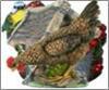 Фигурка садовая Курица клюющая