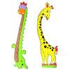 Наклейка-ростомер детская, ПЭВА, 53х35см, 2 дизайна 503-420