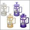 "Чайник с прессом 350мл пластик ""Амели"", 3 цв. 850-159"