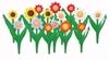 Заборчик садовый Ромашка 45*32,5см 5секций/компл. (10)