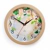 Часы пластик круг ЯБЛОНИ П1-14/7-218