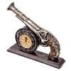 Часы настольные сувенирные в виде Пистоля 21*25*6см 529-116