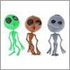Мялка в виде пришельца резина 15см 3диз 297-048 (12)