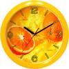 Часы пластик круг ЦИТРУС П1-2/7-11