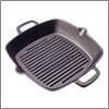 Сковорода-гриль чугун, 26х26х4,5см VETTA 808-004