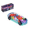 Машинка с прозрачным кузовом, шестеренки, движение, 3АА, пластик, 8,5х20,3х6,3см ИГРОЛЕНД 292-206