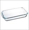 Форма для запекания стекло 1,5л жаропрочн прямоуг с ручками 29*17,5*5см  825-005
