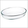 Форма для запекания стекло 2л жаропрочн овал 30*21*6см  825-006