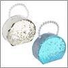 Шкатулка для украшений с отделениями и зеркалом 18,5х15х7,5 см, полиэстер, 2 цвета 504-560 (2)