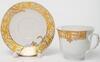 Чайная пара 220мл АВРОРА Шедир декор золото в под. упак.  113-19111