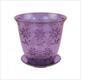 1,5л Горшок д/цветов д/орхидей фиолет. Соблазн М1917 (30)