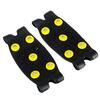 Ледоходы на носок 10*4,5см 5 шипов силикон пластик металл 076-001